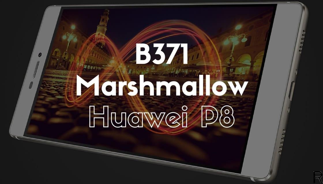 B371 Marshmallow on Huawei P8