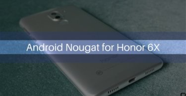 B361 Android Nougat on Honor 6X