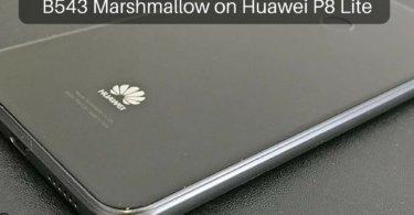B543 Marshmallow on Huawei P8 Lite