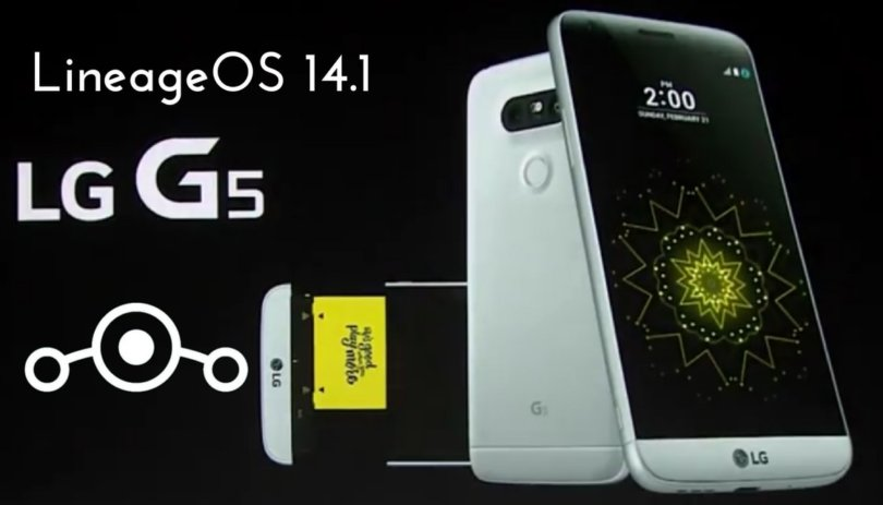 LineageOS 15.0 For LG G5