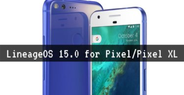 LineageOS 15.0 for Pixel