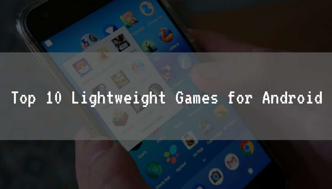 Lightweight Games