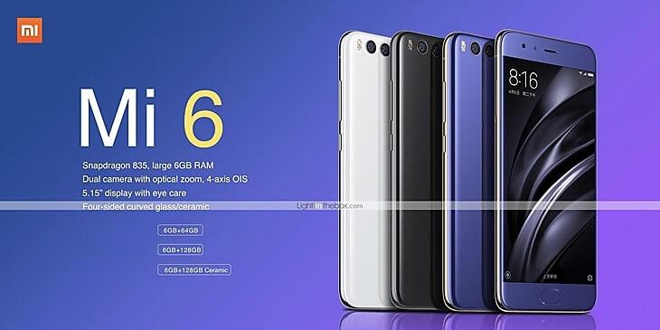 BUy Xiaomi Mi 6 (Best Deal)