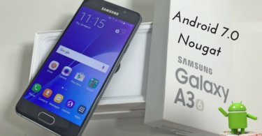 Android 7.0 Nougat on Samsung Galaxy A3