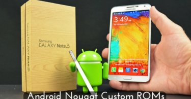 Custom ROM on Samsung Galaxy Note 3