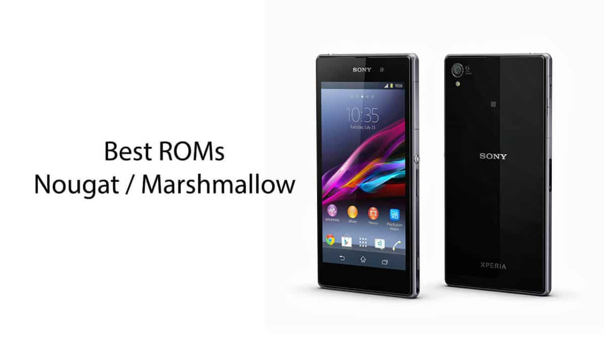 Best ROMs For Xperia Z1