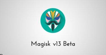 Magisk v13