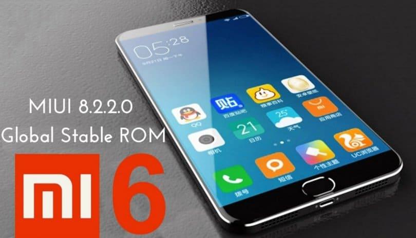 MIUI 8.2.2.0 Global Stable ROM on Mi 6