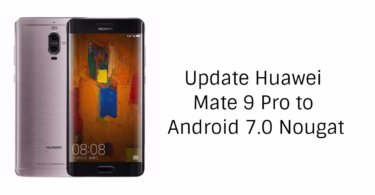 Android Nougat on Huawei Mate 9 Pro