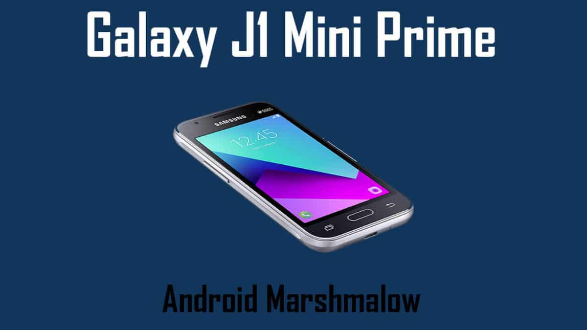Download and Install Galaxy J1 Mini Prime (SM-J106B