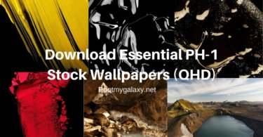 Download Essential PH-1 Stock Wallpapers (QHD)