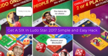Get a SIX In Ludo Star: 2017