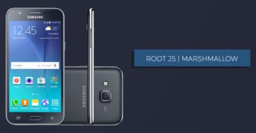 Root Samsung Galaxy J5 SM-J500F On Android Marshmallow 6.0.1