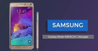 Official XXU2DQCL Nougat Update For Galaxy Note 4 N910C/H
