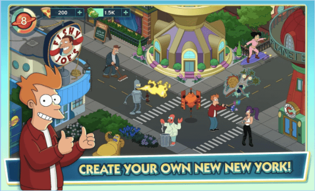 Download FUTURAMA: WORLDS OF TOMORROW For Windows PC and MAC