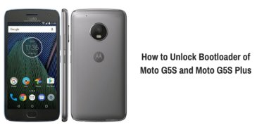 How to Unlock Bootloader of Moto G5S and Moto G5S Plus