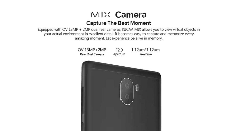 LEAGOO KIICAA Mix 4G Phablet Camera
