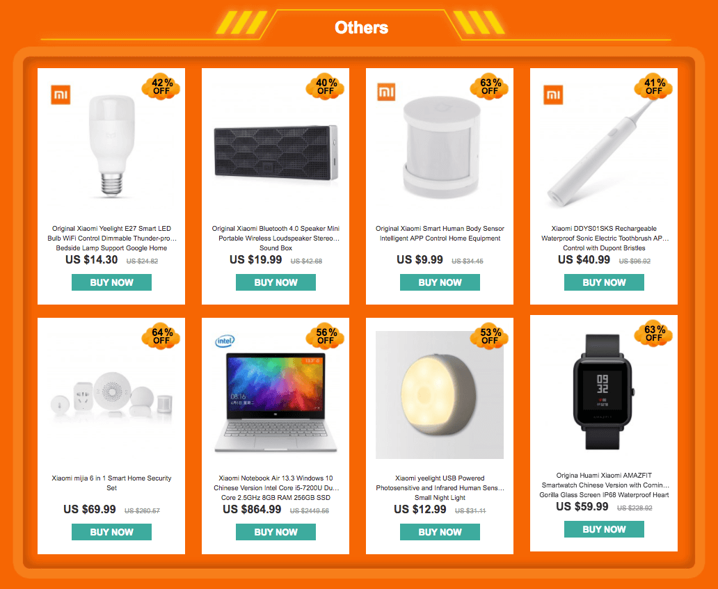 Others - Best Seller - YoShop's Xiaomi promotional Flash Sale