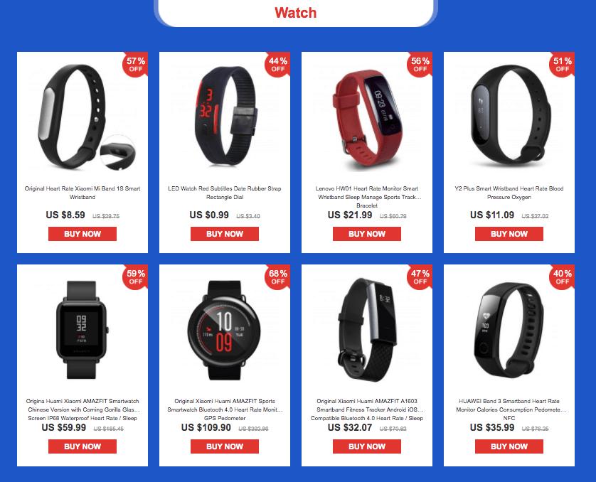 Watches - YoShop Intelligence Everywhere sale