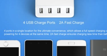 Xiaomi Mi 4 Port USB Charger