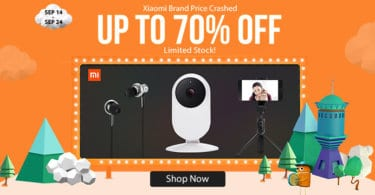 YoShop's Xiaomi promotional Flash Sale