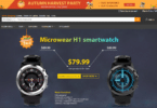 Gearbest's Microware H1 Promotional Sale
