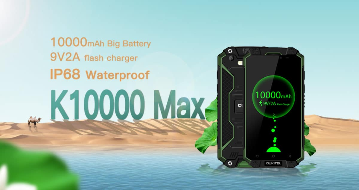 OUKITEL K10000 MAX Presale Starts Next Week