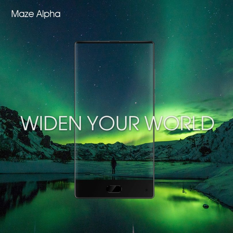 Buy MAZE Alpha 4G Phablet With 4GB RAM and Android 7.0 For 189$