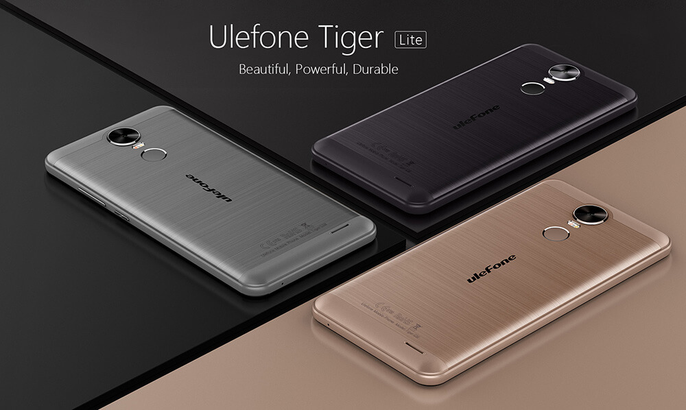 Official Android 7.0 Nougat on Ulefone Tiger Lite