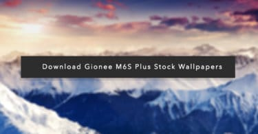 Download Gionee M6S Plus Stock Wallpapers