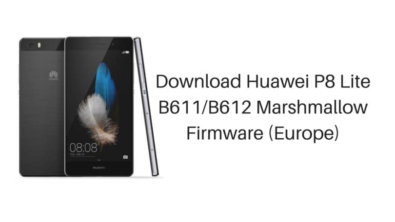 Download Firmware Huawei P 8 Lite
