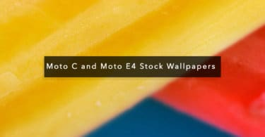 Download Moto C and Moto E4 Stock Wallpapers