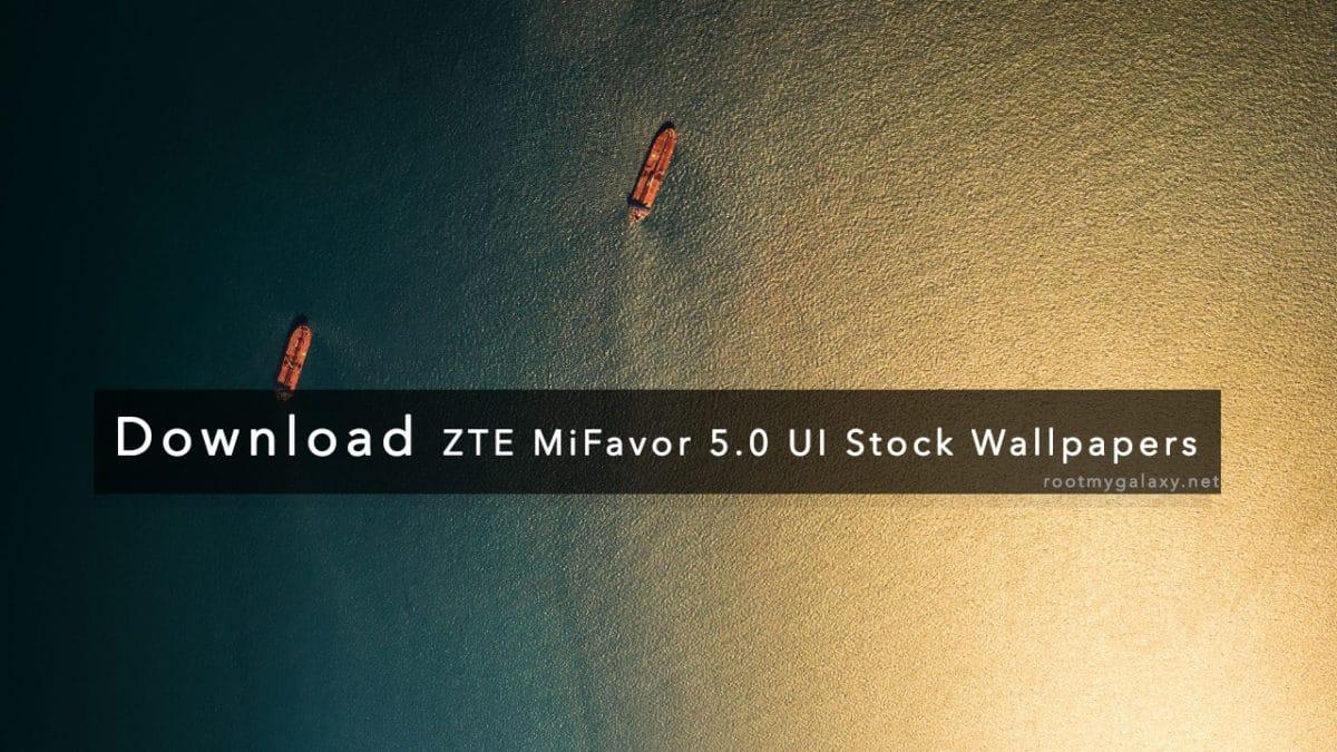 ZTE MiFavor 5.0 UI Stock Wallpapers