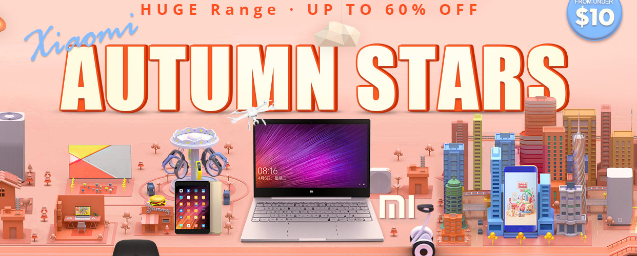Gearbest Xiaomi Autumn Stars sale