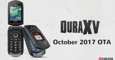 Verizon KYOCERA dura x October