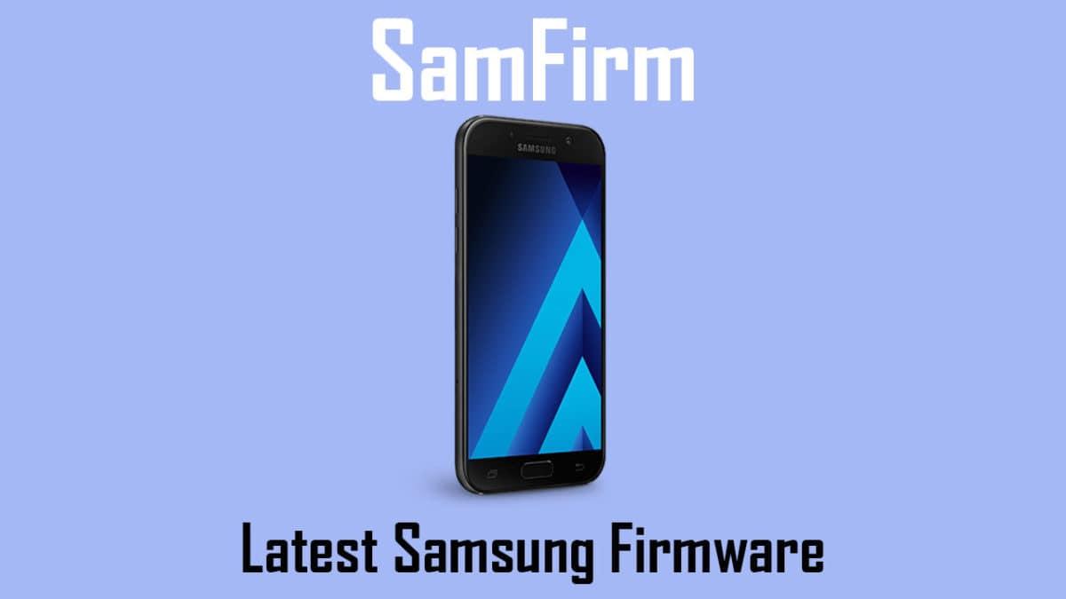 Download Samsung Galaxy Full Firmware Files Using SamFirm