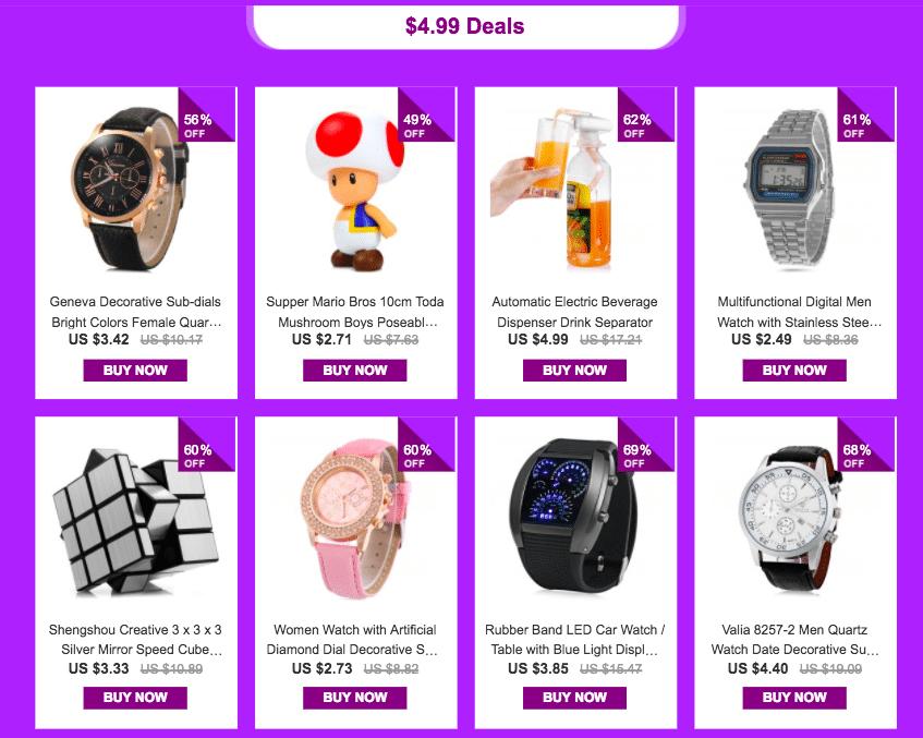 YoShop's $0.47 Promotional Sale - 3