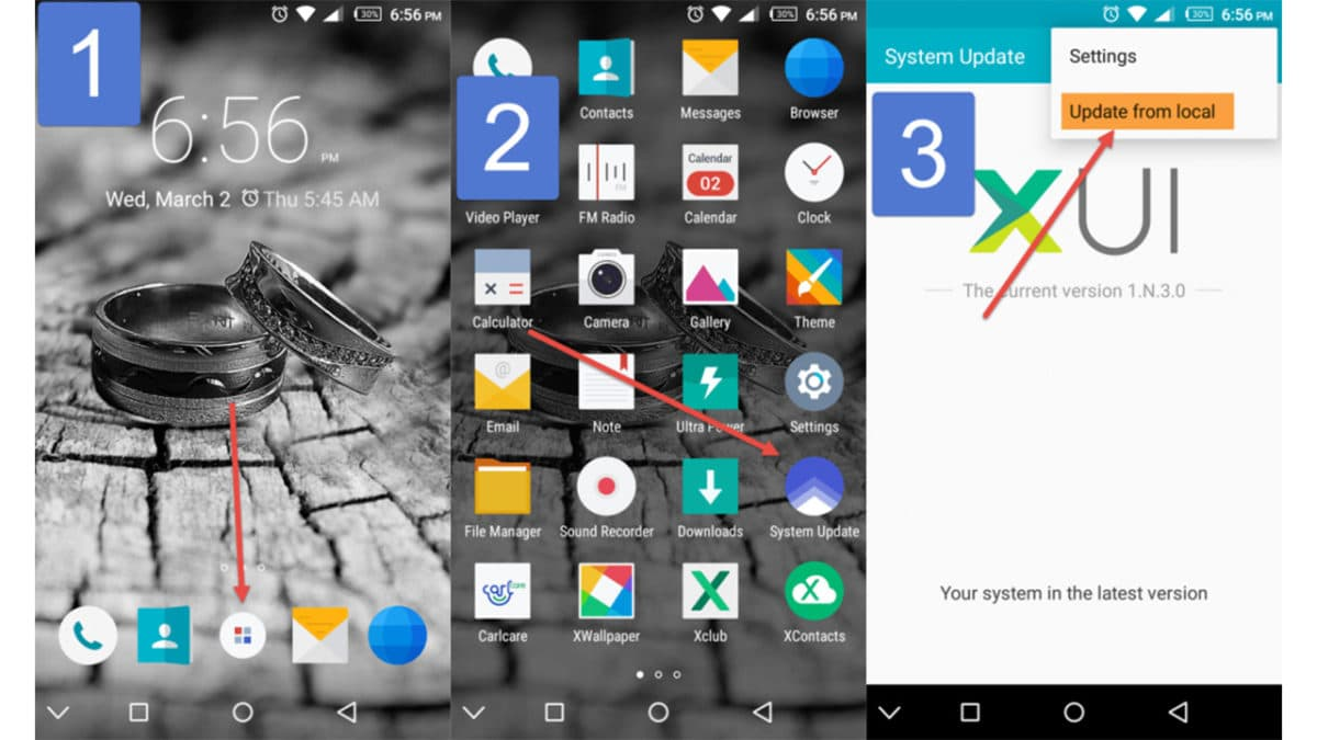 Upgrade/Update Infinix Devices To Latest Firmware Using Tcard