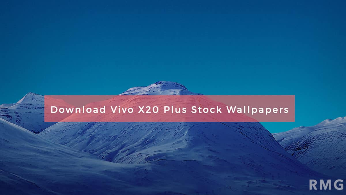 [Download] Vivo X20 Plus Stock Wallpapers In Full HD