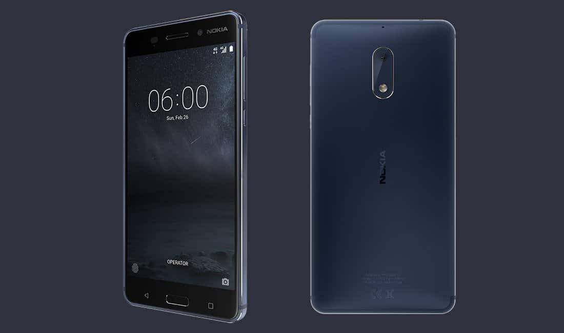 Nokia 6 November 2017 Security OTA Update (064C.B02)