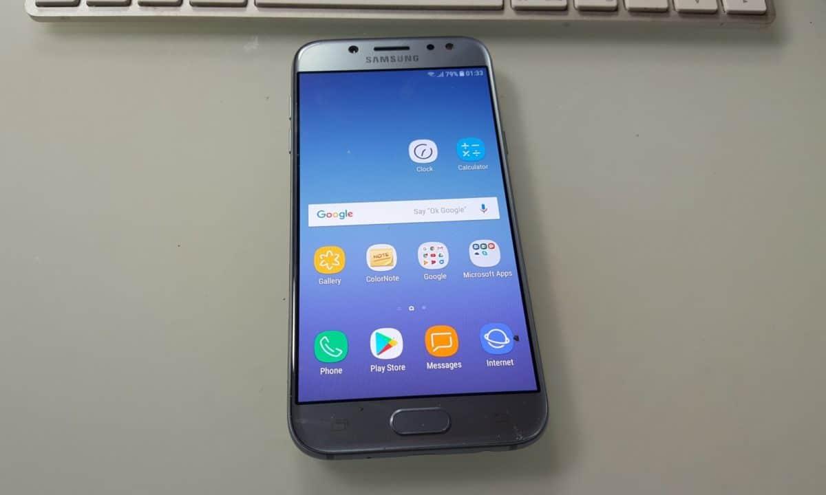 Galaxy J5 2017 J530FXWU1AQI4 Update