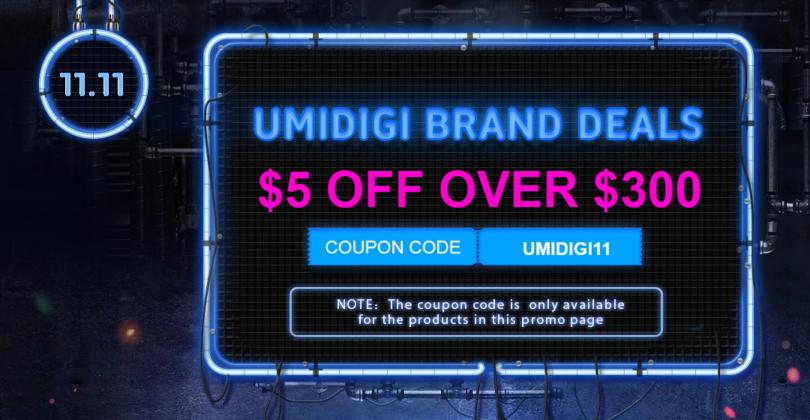 Gearbest 11.11 UMIDIGI Brand Deals
