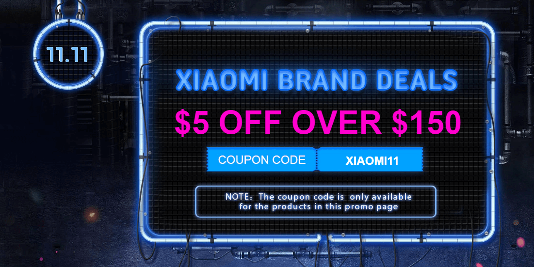 Gearbest 11.11 Xiaomi Sale