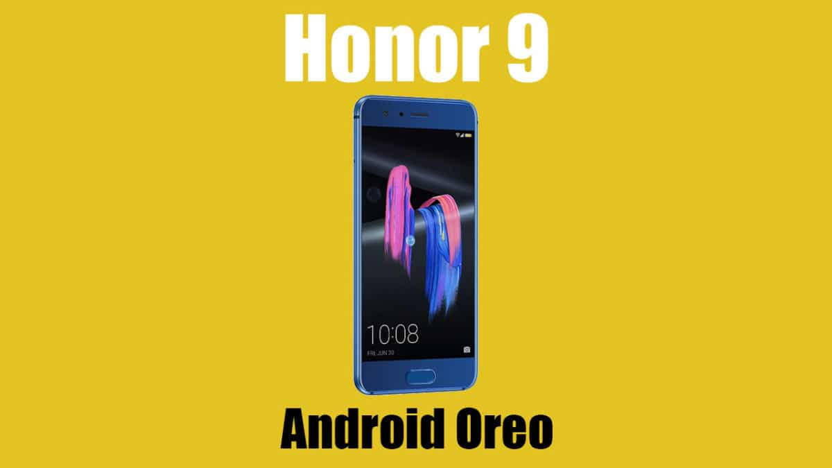 Android 8.0 Oreo on Honor 9