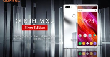 Oukitel Mix 2 Silver Edition