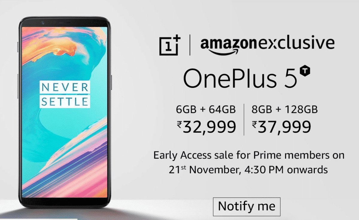 OnePlus 5T in India: Price, Availability and Where to Buy the phone