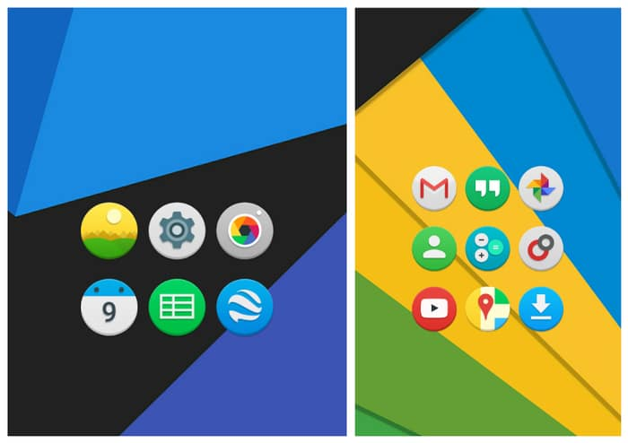 Here Are The New Icons of The Applications of Google Play