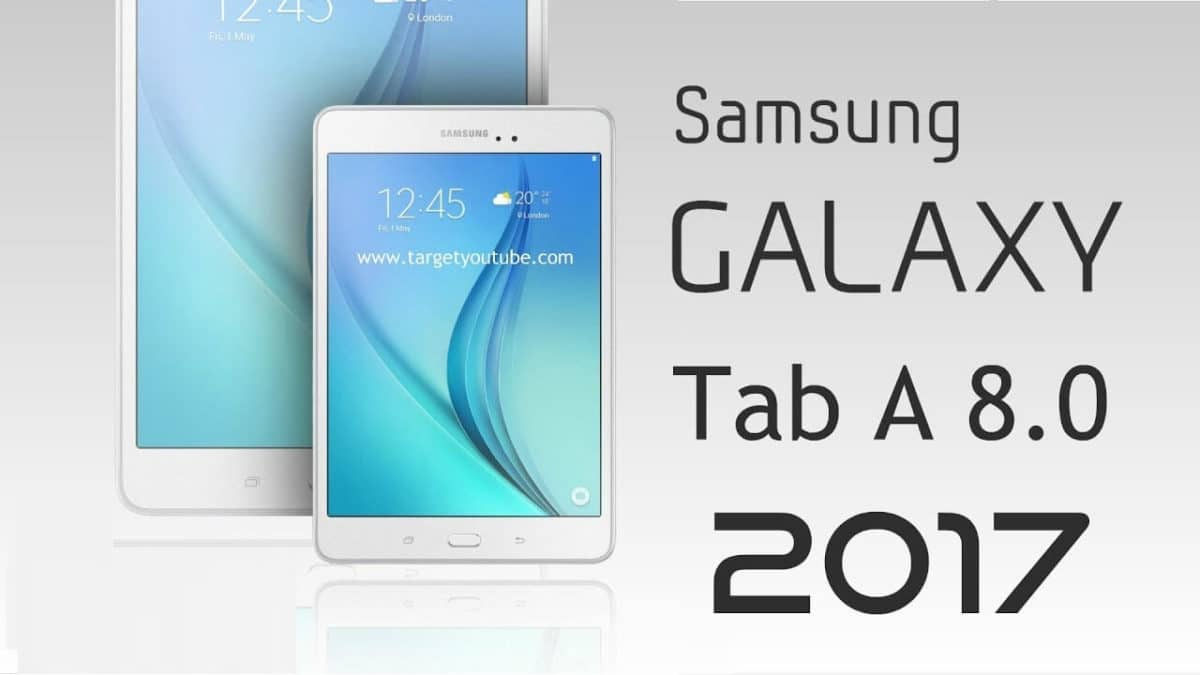 Galaxy Tab A 8.0 2017 Stock Firmware