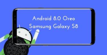 Android 8.0 Oreo OTA update