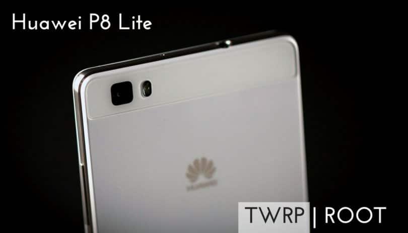 Root Huawei P8 Lite